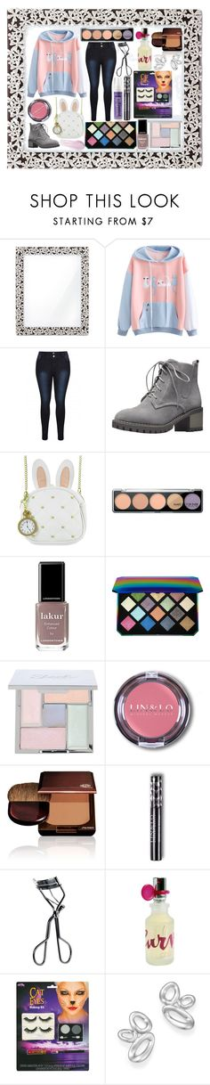 """""""Untitled #1045"""" by yasm-ina ❤ liked on Polyvore featuring L'Objet, Loungefly, MAKE UP FOR EVER, Londontown, Puma, Shiseido, MAC Cosmetics, Liz Claiborne, Ippolita and Lipstick Queen"""