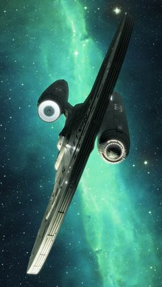 iPhone 5 Wallpapers: Space Ship