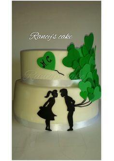 Cake promise of marriage  Torta promessa di matrimonio