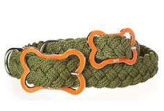 """For our first born """"son"""", Timber...Sailor's Knot Collar, Army on OneKingsLane.com"""