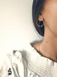 #moilou #moiloujewelry #hoops #earrings #jewelry