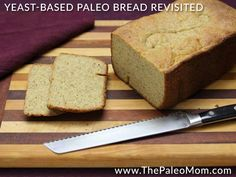 A good paleo bread recipe is worth its weight in gold. I pride myself on my paleo bread recipes, especially those that utilize yeast (check out my post Is Yeast Paleo?) since the flavor and texture is so, well, bread like! For anyone with picky kids they are trying to transition or who is having …
