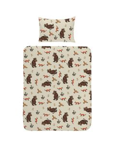 The Gruffalo Toddler Duvet Cover Set Young fans of The Gruffalo will love this…