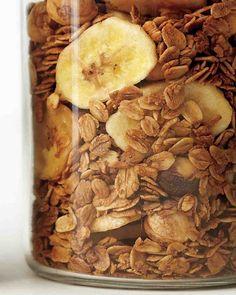 Coffee, Hazelnut, and Banana Granola Recipe