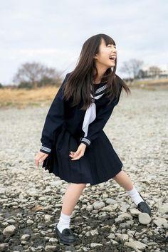 Japan School Uniform, School Uniform Girls, Girls Uniforms, High School Girls, School Girl Outfit, Girl Outfits, Fashion Outfits, Beautiful Japanese Girl, Japan Girl