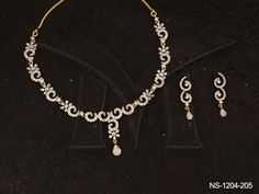 NS-1204-205 | HALF SPIRAL CHAKRI JOINT AD NECKLACE SET