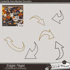 Scrapbooking TammyTags -- TT - Designer - Connie Prince, TT - Item - Flourish, TT - Shape -Arrow