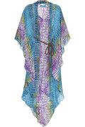 Matthew Williamson alligator print kaftan