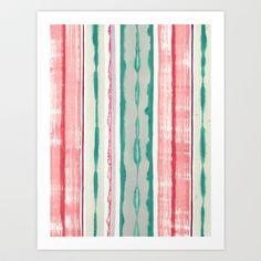 Canyon Stripe Art Print by Chelsea Densmore - $18.00