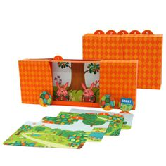 The Tortoise and the Hare Free Printable Theatre- Toys - Paper Craft - Canon CREATIVE PARK