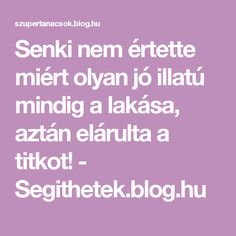Senki nem értette miért olyan jó illatú mindig a lakása, aztán elárulta a titkot! - Segithetek.blog.hu Minion, Diy And Crafts, Household, Health Fitness, Blog, Cleaning, Tips, Design, Health And Fitness