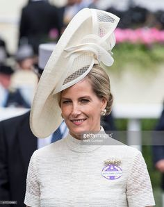 Sophie, Countess of Wessex on day 1 of Royal Ascot at Ascot Racecourse on June 16, 2015 in Ascot, England.  (Photo by Mark Cuthbert/UK Press via Getty Images)