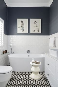 Thrill Your Site visitors with These 30 Cute Half-Bathroom Styles Fifty percent . - Thrill Your Site visitors with These 30 Cute Half-Bathroom Styles Fifty percent Washroom Ideas-Your - Bathroom Inspo, Bathroom Styling, Bathroom Grey, Bathroom Colors, Bathroom Modern, Metro Tiles Bathroom, Small Bathroom Inspiration, Bathroom Cabinets, Bathroom Floor Tiles
