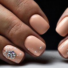 The pink nail art design can highlight the soft and sweet temperament of women.Pink nail art designs can be used in almost all occasions, not unassuming, but without losing grace. Xmas Nails, Christmas Nails, Fun Nails, Nailart, Holiday Nail Art, Trendy Nail Art, Toe Nail Art, Matte Nails, Chrome Nails