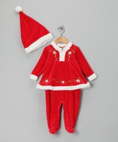 Another great find on Baby Grand Red Santa Footie & Hat - Infant That Look, Take That, Santas Workshop, Holiday Looks, Fur Trim, Big Kids, Infant, Bell Sleeve Top, Hats