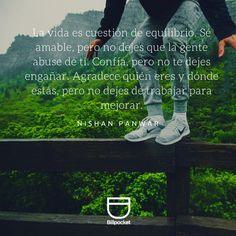 Encuentra el equilibrio. #Motivación #Éxito #Emprendimiento