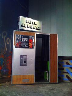 Fotoautomat at La Friche Belle de Mai, Marseille - 2009 #photobooth #photomaton