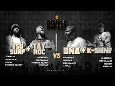 TSU SURF/ TAY ROC VS K SHINE/ DNA SMACK/ URL RAP BATTLE - YouTube