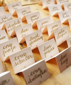 place cards for wedding x 50 personalised wedding table name tags