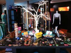 Bluetique Lexington, KY- Jewelry table