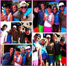 Ross always holds Rydel's hand every time he is about to leave for a long time.. So cute!