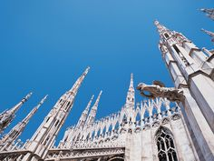 The largest Gothic cathedral in the world, Duomo di Milano is one of Europe's most impressive architectural wonders. For the hale and hearty, climb the 170 stairs to the roof for a closer look at the Gothic gargoyles.