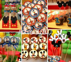 Arte 1010: Festa Mickey Mouse Clubhouse