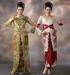 WEDDING: Indonesian Wedding Dresses