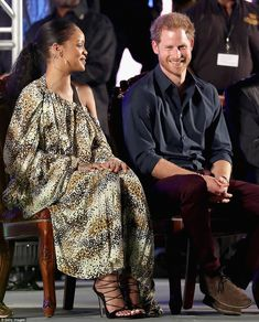 Prince Harry and Rihanna appeared to be fast friends on Wednesday night as they attended the Golden Anniversary Spectacular Mega Concert at the Kensington Oval Cricket Ground