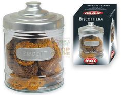 MAX BISCOTTIERA VETRO http://www.decariashop.it/home/10001-max-biscottiera-vetro.html