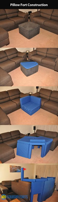 Ultimate pillow fort...