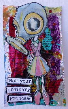 Not Your Ordinary Princess by nikimaki, via Flickr