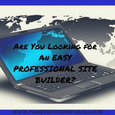 Looking for An Easy Professional Website Builder? Successful Online Businesses, Professional Website, How To Get Rich, Affiliate Marketing, Money, Education, Easy, Silver, Onderwijs