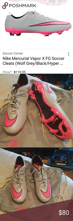 Nike mercurial vapor New never been used Nike Shoes Athletic Shoes