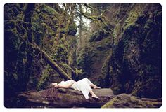 Amazing maternity pictures from a Portland photographer. Love the forest setting!