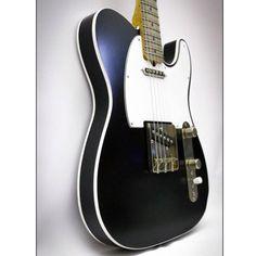Palir Guitars black double bound Titan