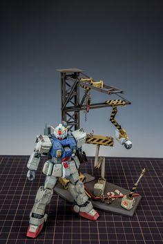 GUNDAM GUY: HG 1/144 RX-78(G) Gundam Ground Type - Diorama Build