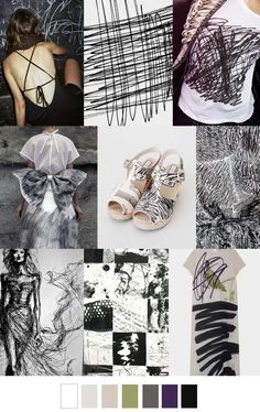 S/S 2017 Trend board: Scratch Pad Fashion 2017, Look Fashion, Fashion Trends, Fashion Design Inspiration, Style Inspiration, Fashion Colours, Colorful Fashion, Pinterest Trends, Color Trends