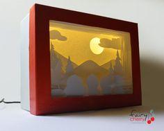 Shadow Box TV Craft Idea with PomTree Kids | Tween Craft ...