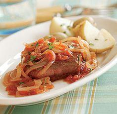 Pan-Seared Steak Pizzaiola #30min #meals #recipe