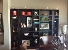 5 PC Billy Bookcase Corner System Found At Design With Consignment In Austin ,Texas