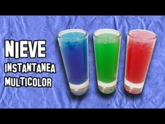 Experimentos Caseros | Como Hacer Nieve Instantánea Multicolor - YouTube Shot Glass, Tableware, Facebook, Youtube, Science Experiments Kids, How To Make Snow, Crafts, Magick, Cards