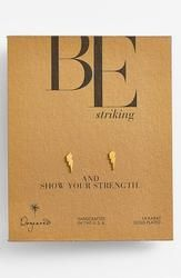 Dogeared 'Be Striking' Boxed Lightning Bolt Stud Earrings Cool Gifts For Teens, Flowers Delivered, Lightning Bolt, Thoughtful Gifts, Best Gifts, Place Card Holders, Stud Earrings, Nordstrom, Confessions