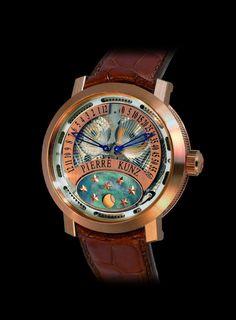 ca61234d438 48 mejores imágenes de Relojes bellisimos pierre kunz