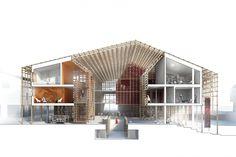 Køge Cultural House, COBE - BETA