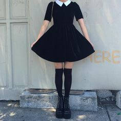 @kokopiebrand #goth #pastelgoth #wednesdayaddams all these items are available at www.kokopiecoco.com