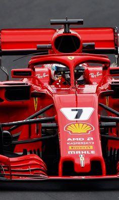 ------- Kimi driving the Ferrari -------- Ferrari Racing, Ferrari F1, F1 Racing, Grand Prix, Formula 1, Gp F1, Pontiac Fiero, Monaco, Michael Schumacher