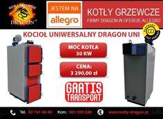 🔴 KOCIOŁ uniwersalny DRAGON UNI   🔴 Wejdź w bezpośredni link do naszej aukcji: ➞ http://allegro.pl/kociol-kotly-piece-uniwersalne-pid-producent-30kw-i6270171335.html  ⚫KONTAKT:  🔴tel./fax: 62 741 84 60 🔴kom. 501 035 240  ✉e-mail: biuro@kotly-dragon.pl ✉e-mail: handlowy@kotly-dragon.pl  ➞Zapraszamy również na nasze aukcje allegro: http://bit.ly/kotly ➞Oraz stronę internetową: http://www.kotly-dragon.pl  #KOCIOŁ #KOTŁY #PIECE #DOM #OGRZEWANIE #OPAŁ #MIAŁ #PELLET #EKOGROSZEK #WĘGIEL