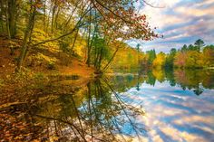 Fall has arrived in central Pennsylvan Photo by Viet Dao -- National Geographic Your Shot