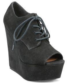 Steve Madden Women's Shoes, WindUp Platform Wedge Shooties Women's Shoes